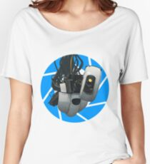Portal GLaDOS Women's Relaxed Fit T-Shirt