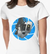 Portal GLaDOS Womens Fitted T-Shirt