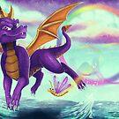 Spyro the Dragon  by qlaxx