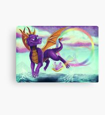 Spyro the Dragon  Canvas Print