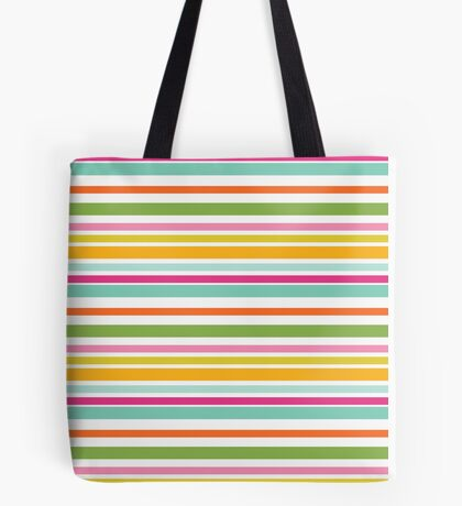 Beachy Bright Colors Tote Bag