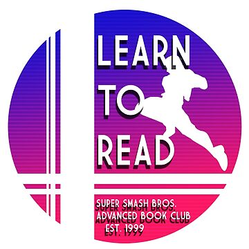 Super Smash Bros. LEARN TO READ Advanced Book Club by VaporwearDeluxe
