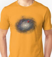 You are here - GPS T-Shirt