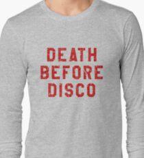 DEATH BEFORE DISCO (STRIPES) T-Shirt