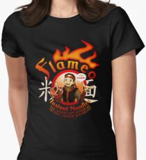 Flameo Instant Noodles! Women's Fitted T-Shirt