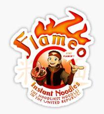 Flameo Instant Noodles! Sticker