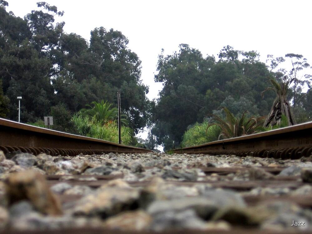Railroad Tracks by Jazz