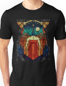 ODIN WODAN geometric vikings ornament art Unisex T-Shirt
