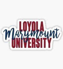 Loyola Marymount University Sticker
