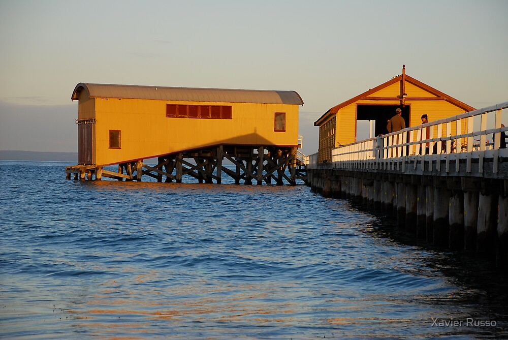 Queenscliff Pier by Xavier Russo