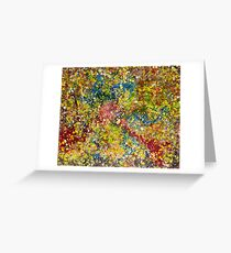 Colors Greeting Card