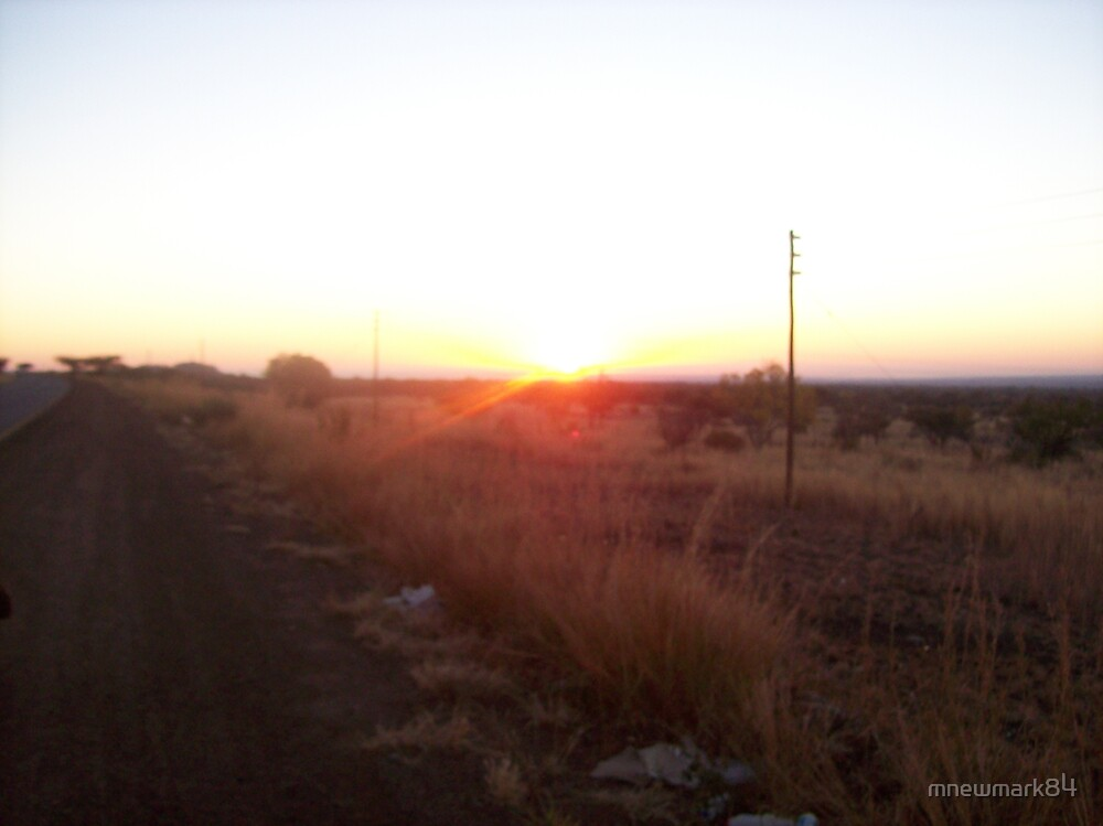 South African sunrise by mnewmark84