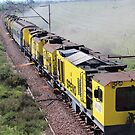 Track maintenance train!!  by poohsmate