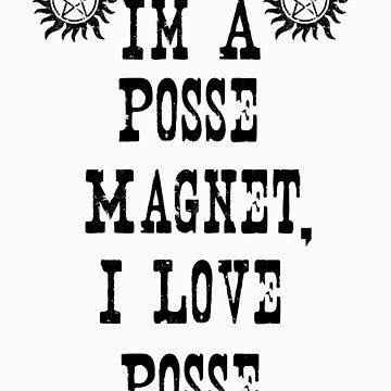 Posse Magnet by A3N-Art