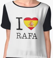 I ♥ RAFA Women's Chiffon Top