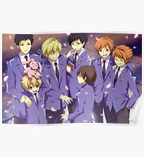 Ouran Host Club  Poster