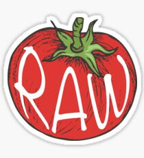 Raw  Sticker
