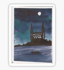 chateau noir Sticker