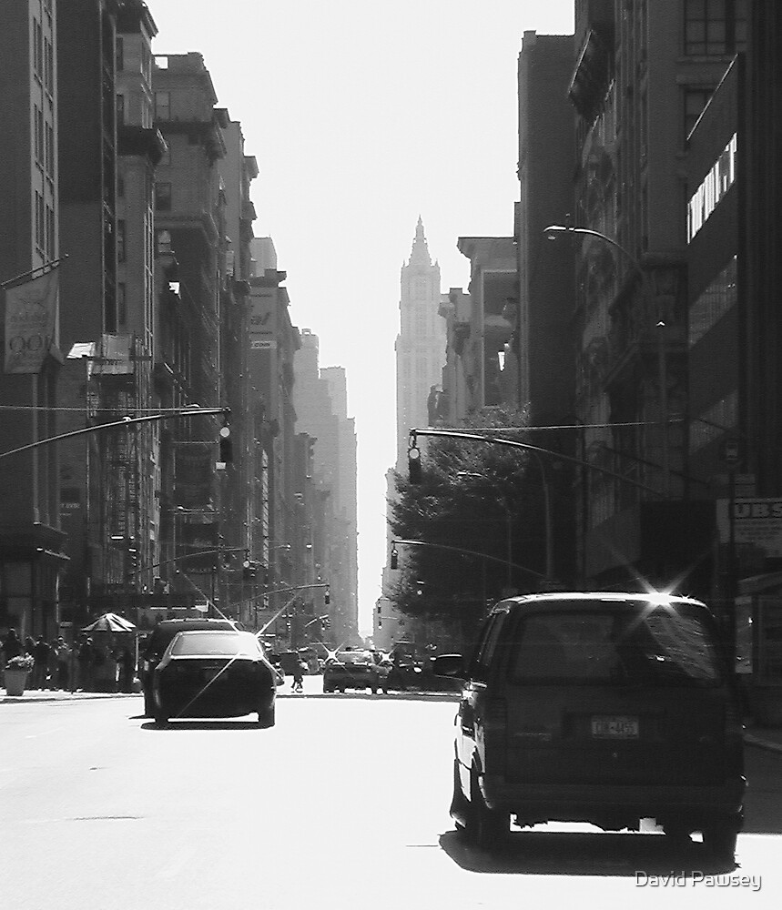 NYC street by David Pawsey