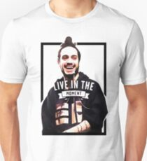 live in the moment Unisex T-Shirt