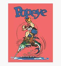 popeye Photographic Print