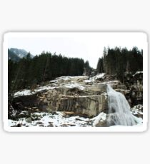 Krimml Waterfalls, Austria Sticker