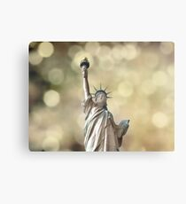 Statue of Liberty - Bokeh Canvas Print