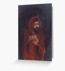 Judas Iscariot Greeting Card
