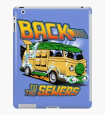 Back to the Sewers iPad Case/Skin