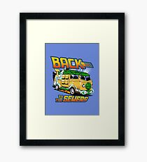 Back to the Sewers Framed Print