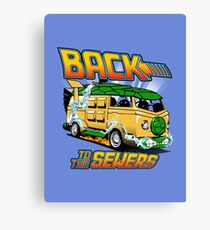 Back to the Sewers Canvas Print