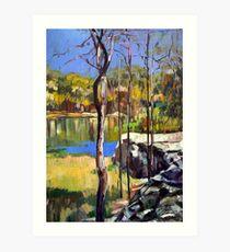 Hemmant Reserve Art Print