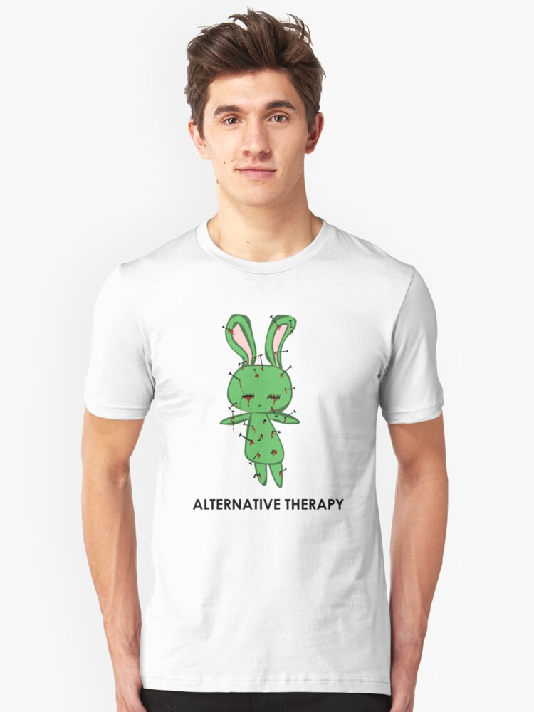 Alternative Therapy Unisex T-Shirt Front