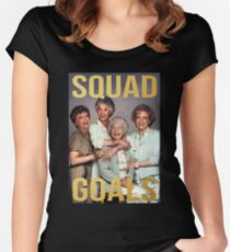 golden girls Women's Fitted Scoop T-Shirt