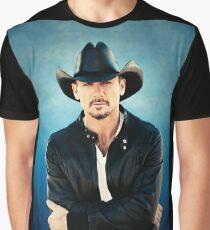 TIM-MCGRAW Graphic T-Shirt