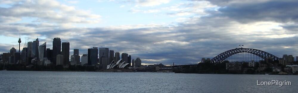 Sydney Skyline by LonePilgrim