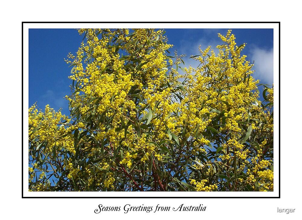 Seasons Greetings from Australia by langar