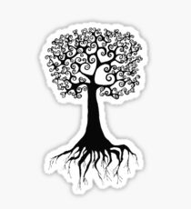 Enchanted Tree of Love Sticker