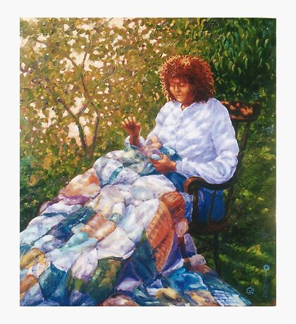The Quilt Photographic Print