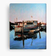 Wynnum Creek Morning Canvas Print