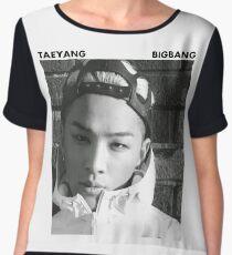 BIGBANG - Taeyang Women's Chiffon Top