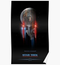 Star Trek Enterprise NCC 1701-C Poster