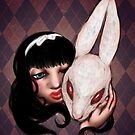 Alice and White Rabbit by RileyOMalley