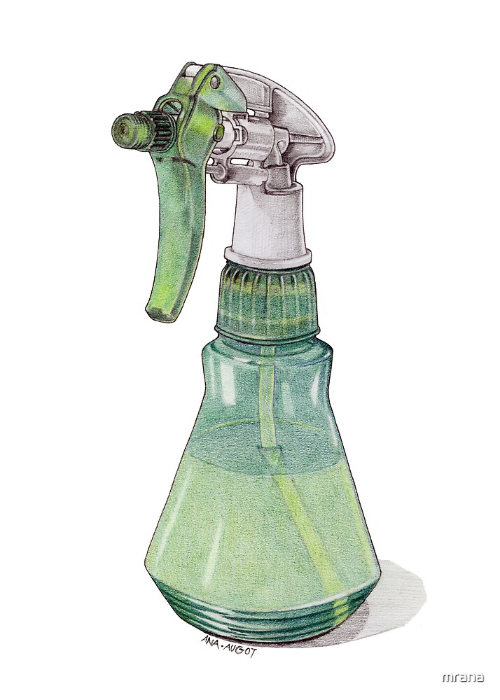 Spray Bottle by Mariana Musa