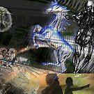 Evolution's blue print by Jonathan baez