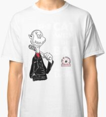The Cat With The Bat Classic T-Shirt