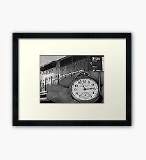 """""""2:57"""" Framed Print"""