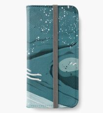 Whale dive iPhone Wallet/Case/Skin