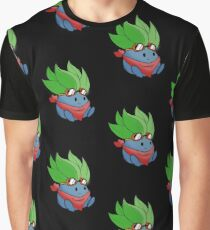 Captain Oddish Sketch Graphic T-Shirt
