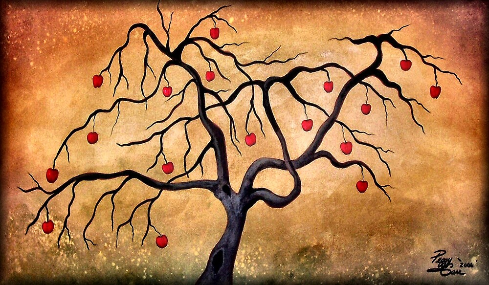 Old Apple Tree by Peggy Garr